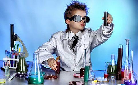 Niño-científico