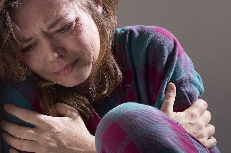 Mujer-llorando-