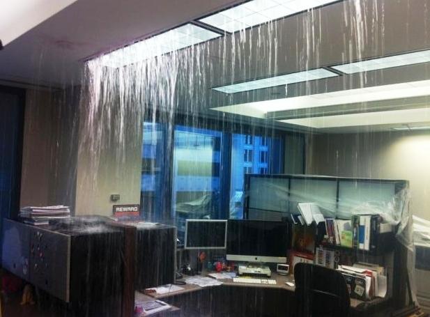 Oficina-inundada