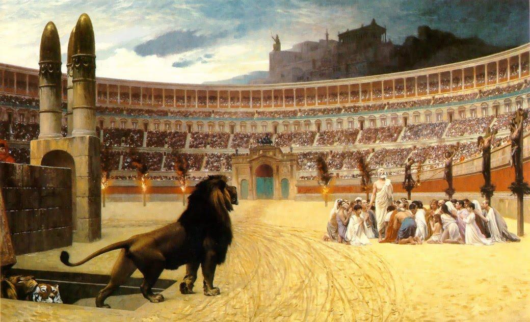 Persecución circo romano